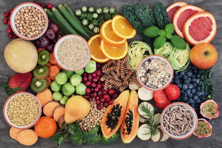 Ballaststoffe in Lebensmitteln